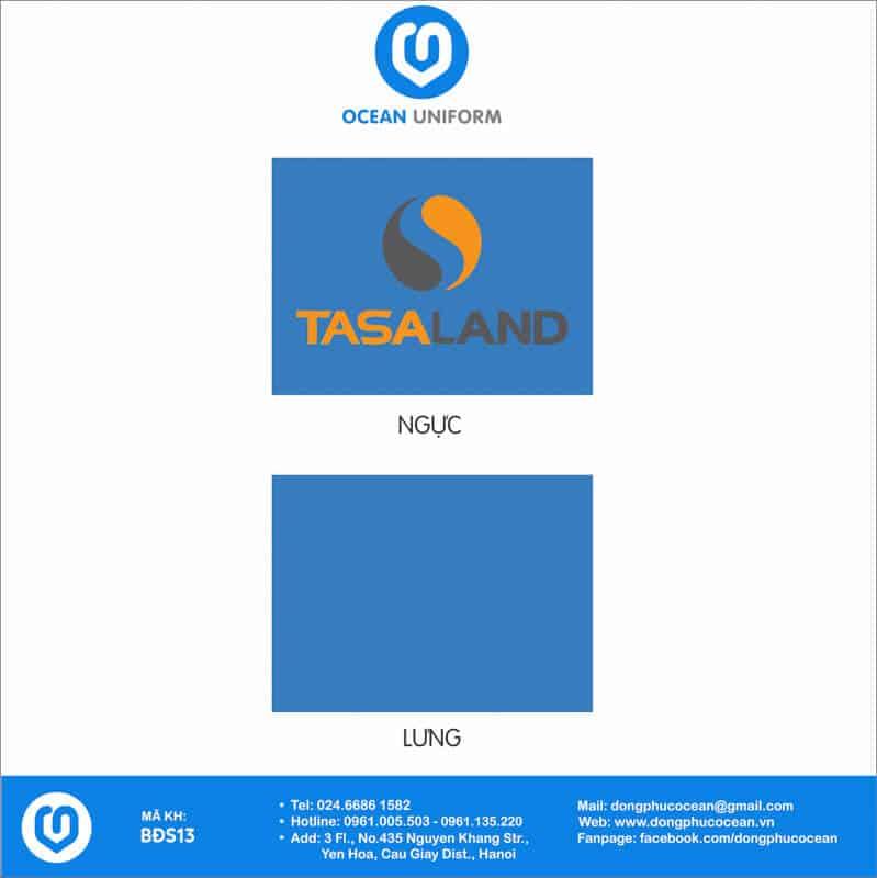 Họa tiết đồng phục văn phòng Công ty CP TASA Land