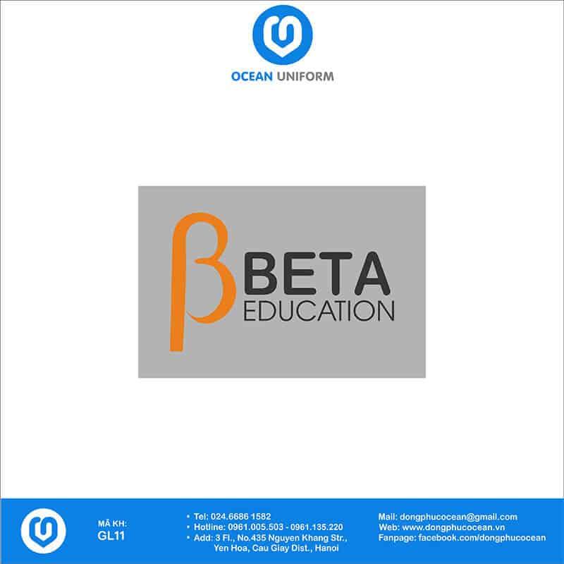 Họa tiết may áo khoác Gile đồng phục BETA Education