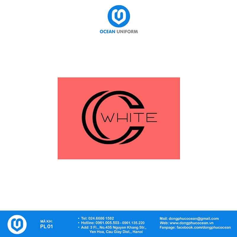 Họa tiết đồng phục PG C-white