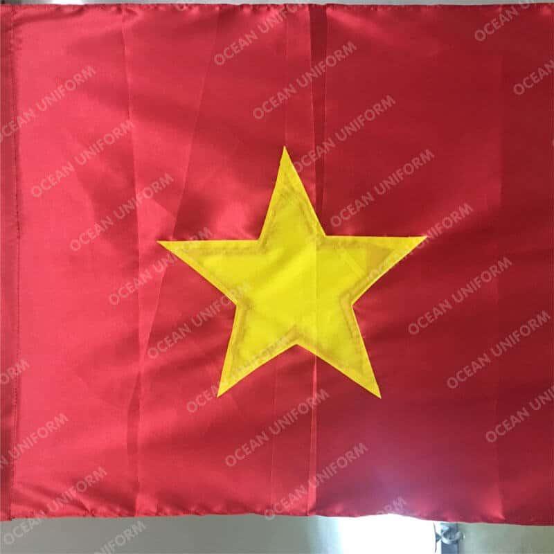 Lá cờ đỏ sao vàng 1x1,5m