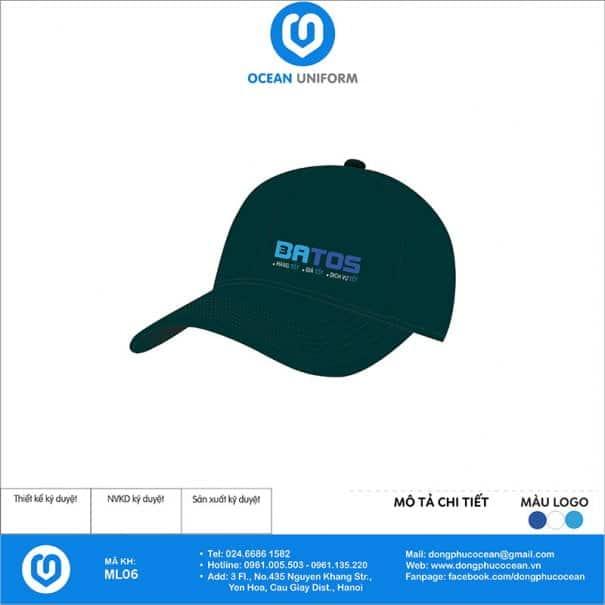 Mũ đồng phục Công ty BATOS