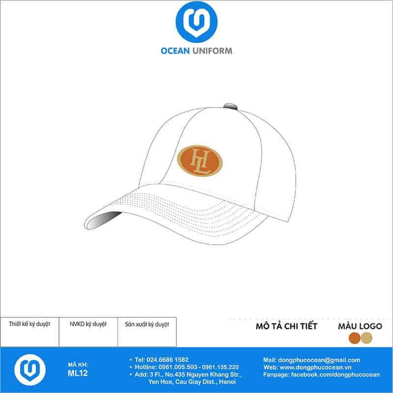 Mũ đồng phục Công ty HL