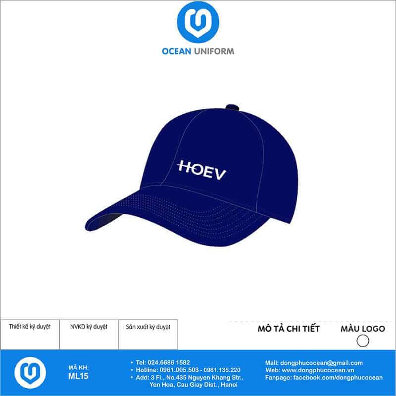 Mũ đồng phục Công ty TNHH HOEV