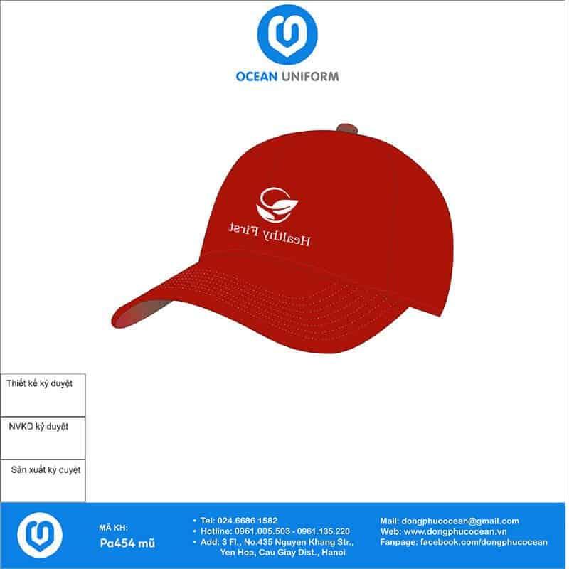 Mũ đồng phục Healthy First