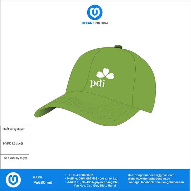Mũ đồng phục PDI