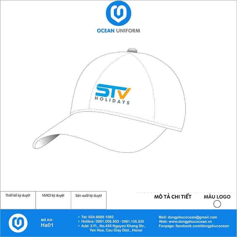 Mũ đồng phục STV Holidays