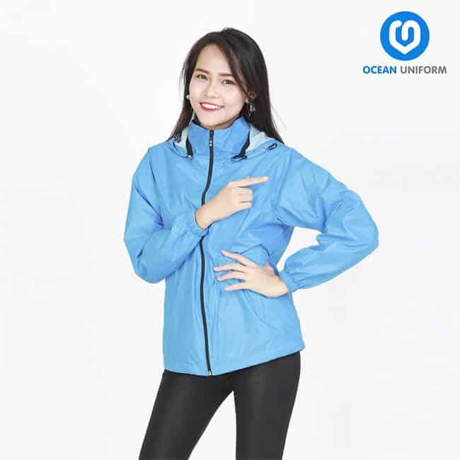 Đồng phục Ocean là xưởng in áo gió đẹp, chất lượng cao