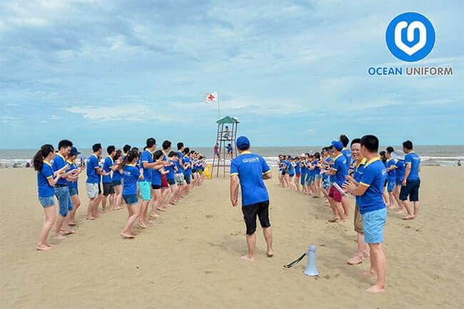 Ocean là địa chỉ in áo đồng phục công ty uy tín và chất lượng