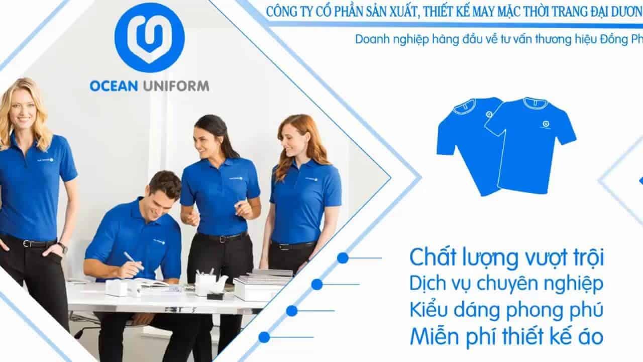 In áo online tại đồng phục Ocean yên tâm về chất lượng và dịch vụ
