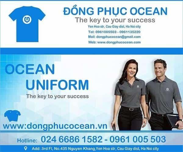Đồng phục Ocean đơn vị cung cấp đồng phục câu lạc bộ hàng đầu Việt Nam