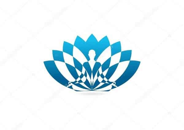 Logo câu lạc bộ yoga độc đáo