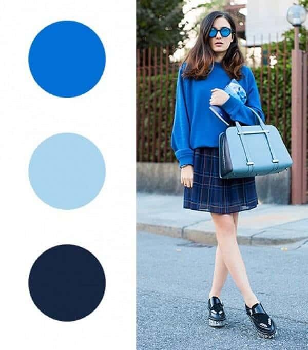 Màu xanh navy - gam màu cổ điển nhưng không bao giờ lỗi mốt