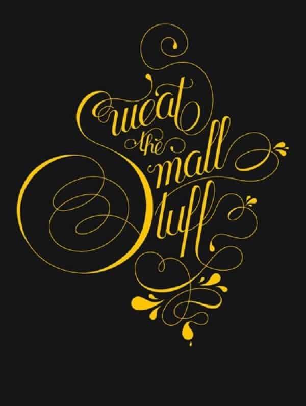 Font chữ typography cổ điển