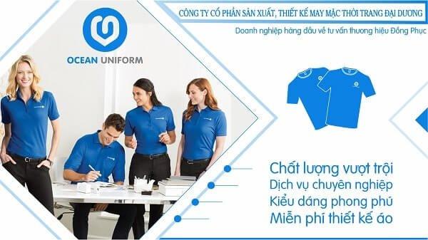 Đồng phục Ocean - xưởng may áo đồng phục công ty uy tín