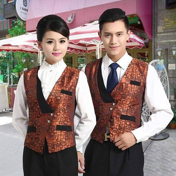 Đổi mới đồng phục cho nhân viên phục vụ với phong cách hơi hướng cổ điển