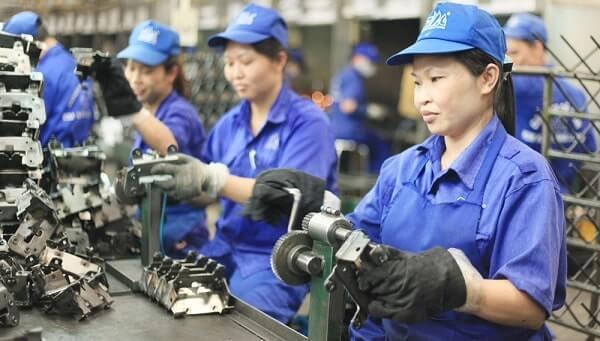 Đồng phục công nhân cần rất nhiều tính thẩm mỹ