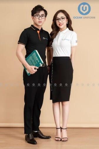 Thiết kế đồng phục dành riêng cho nhân viên nam và nữ