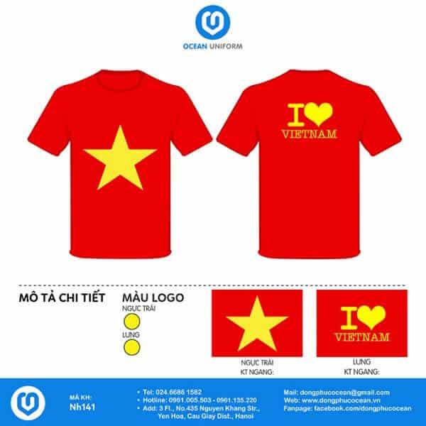 Áo tôi yêu Việt Nam