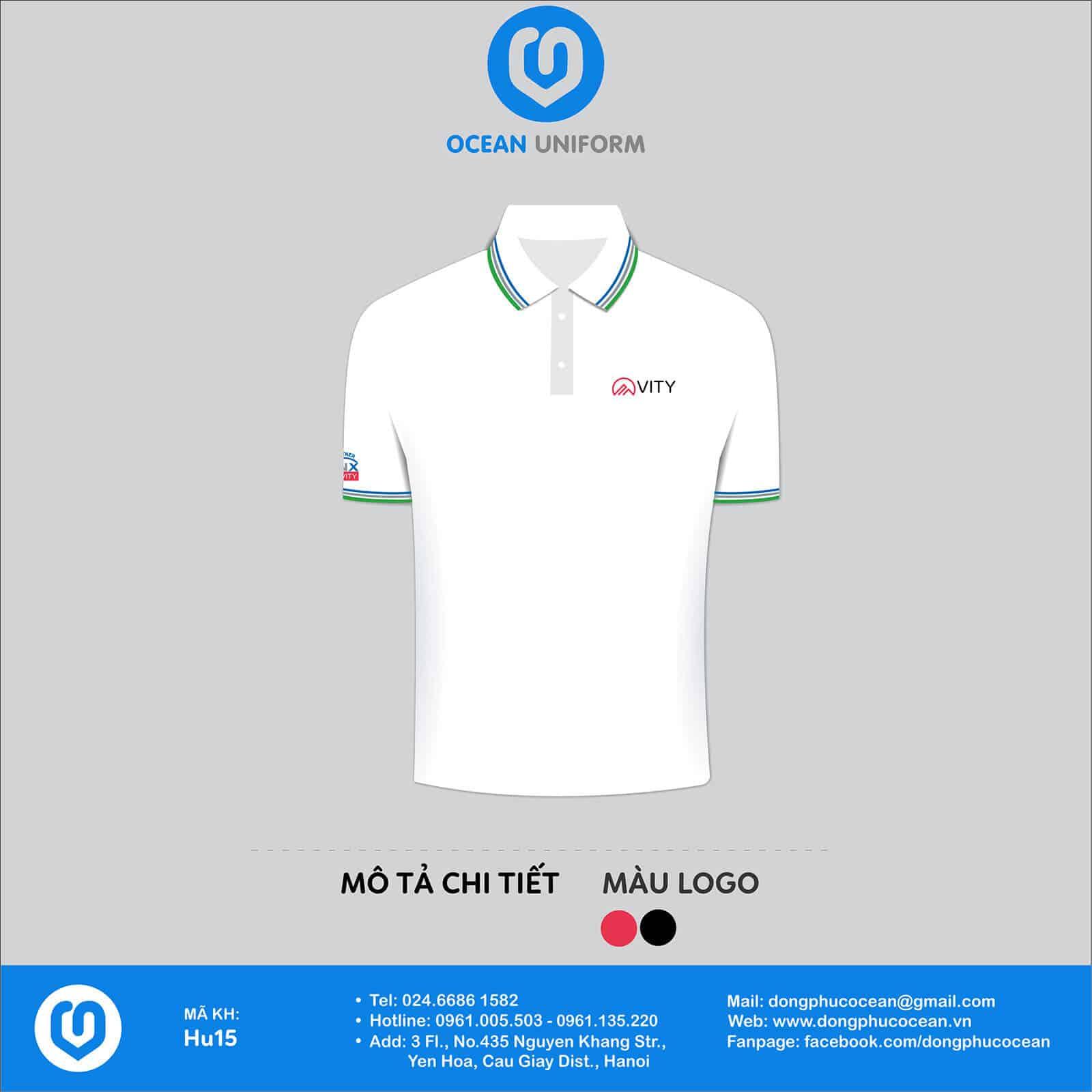 thiết kế áo đồng phục cho công ty
