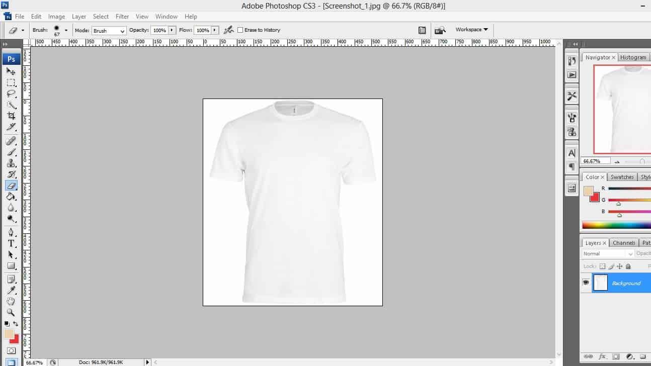 thiết kế áo đồng phục bằng phần mềm offline