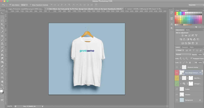Phần mềm thiết kế áo thun Adobe Photoshop