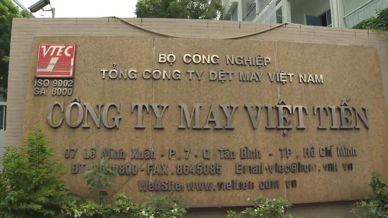 Công ty may Việt Tiến