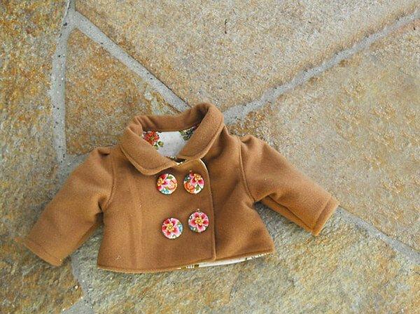 May áo khoác cho bé