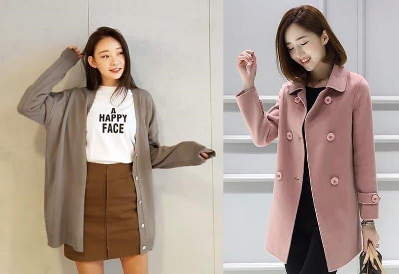 Cách may áo khoác cho nữ