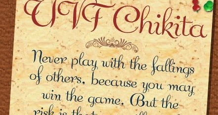 Font chữ UVF Chikita