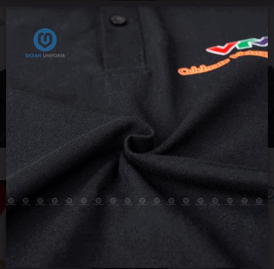 in áo đồng phục với chất vải cao cấp