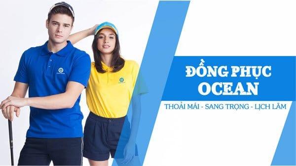 Công ty may áo thun đồng phục Ocean