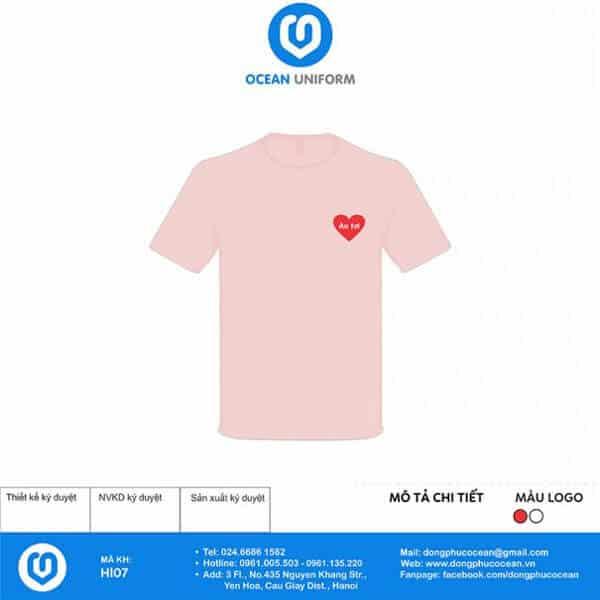 """Sắc hồng pastel rất dễ thương nên chỉ cần sử dụng họa tiết đơn giản đã """"hạ gục"""" trái tim người đối diện."""