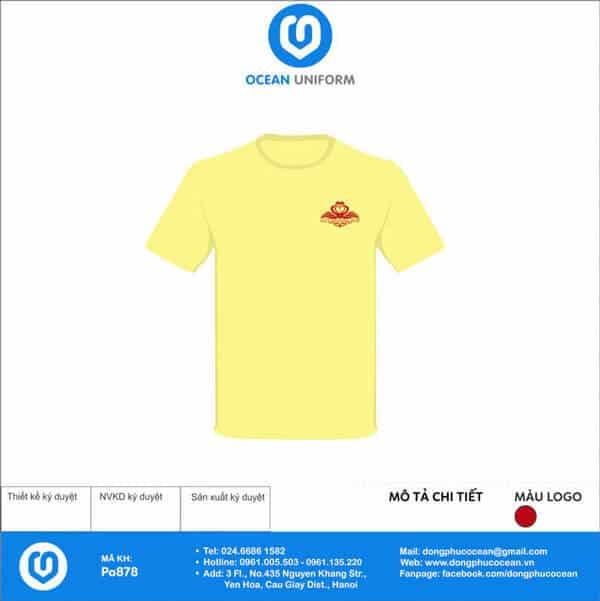 Áo đồng phục Công ty Rắn Vàng Tháng Mười