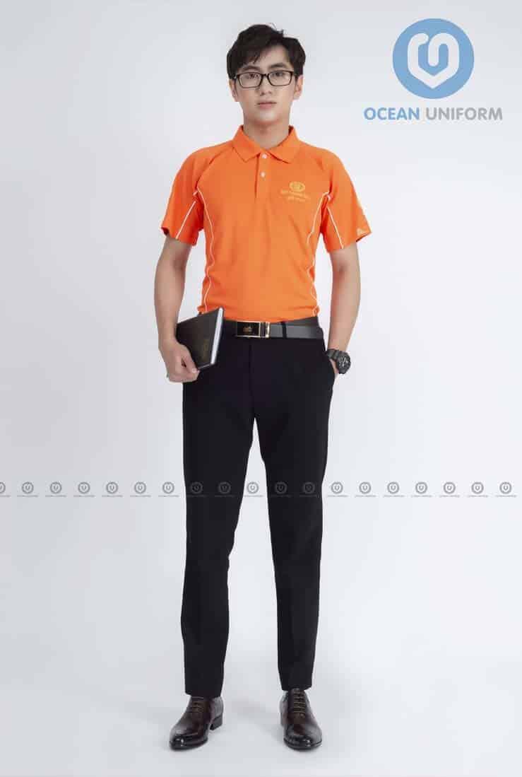 Áo phông đồng phục nhân viên