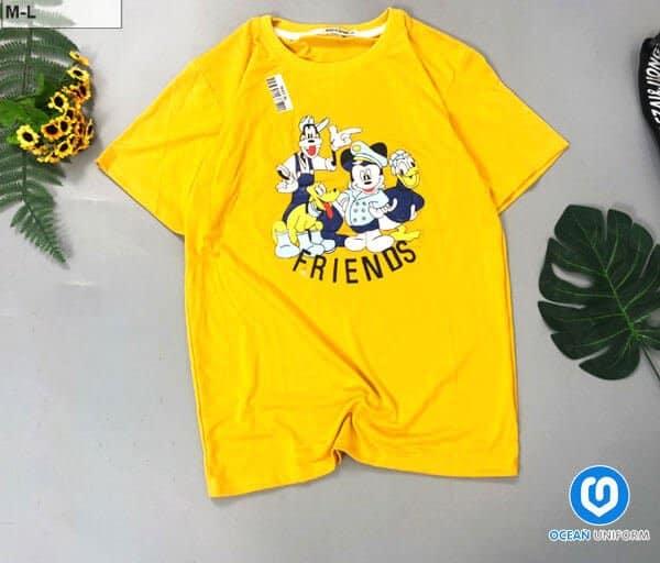 Đồng phục lớp màu vàng ngộ nghĩnh