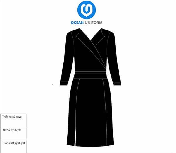 Đồng phục spa Hàn Quốc