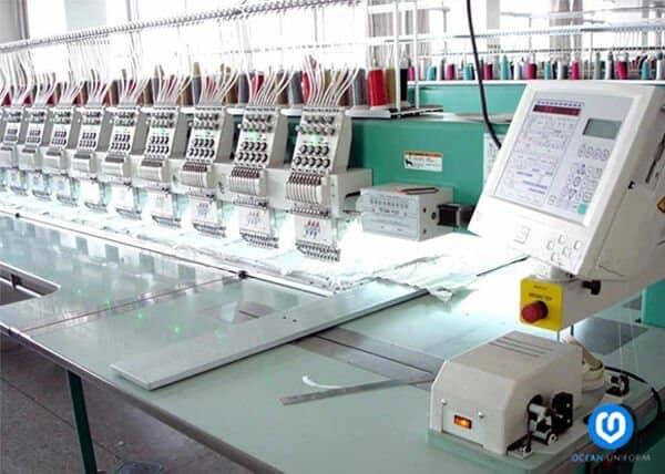 Xưởng may áo thun của Ocean