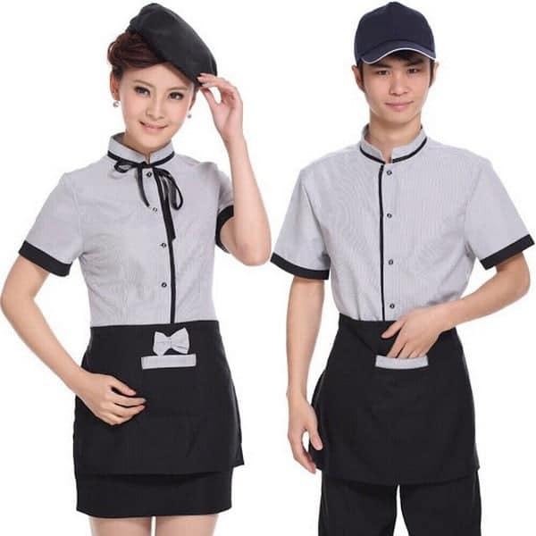 áo thun đồng phục nhà hàng 3