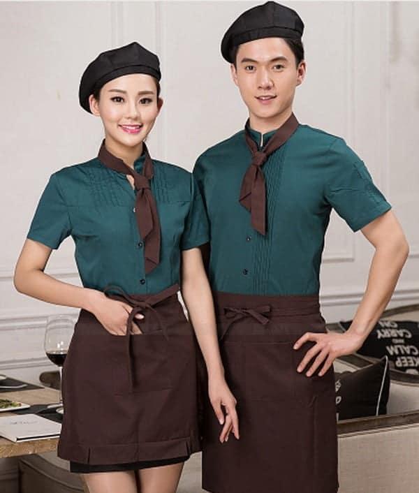 mẫu đồng phục nhân viên nhà hàng 1