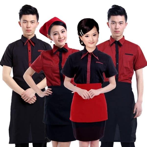 mẫu đồng phục nhân viên nhà hàng 2