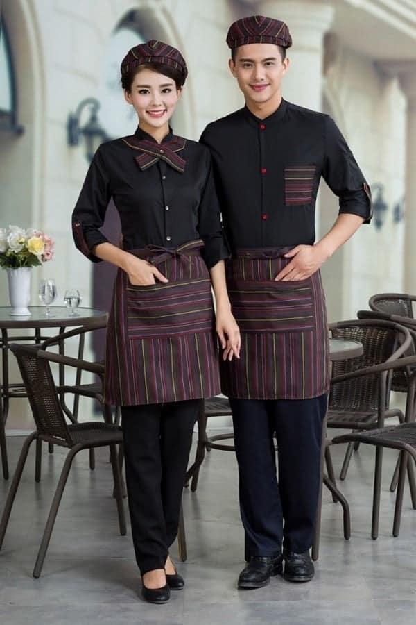 mẫu đồng phục nhân viên nhà hàng 3